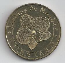 17 Charente Mar ROYAN L' orchidée Vanda Blue  2003H Médaille Monnaie Paris