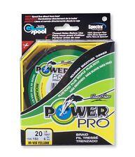 Power Pro Super Line gelb 135m sämtliche Durchmesser, geflochtene Angelschnur