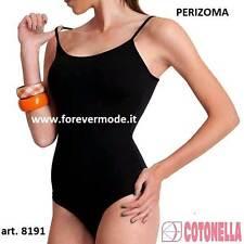 Body donna Cotonella spalla stretta in morbido cotone modal a perizoma art 8191