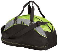 Duffel gym bag overnight travel bag,sport bag side mesh pocket adjustable strap