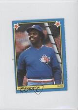 1983 Fleer Baseball Album Stickers Separated #162 Lamar Johnson Texas Rangers