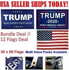 Wholesale 3x5 Ft Trump Flag Make Keep America Great Again MAGA 2020 USA