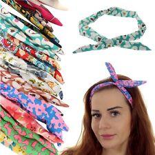 Hasenohren Haarband Kopfband Stirnband Band Haarschmuck NEU