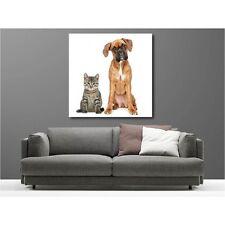 Quadro tela decocrazione cane e gatto 69203530