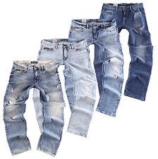 Big Seven Jay/Morris Regular Straight Jeans Uomo Pantaloni di dimensioni oversize XXL