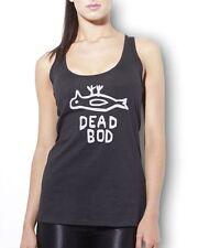 Dead Bod - Funny Hull Dockyard Graffiti  Womens Girls Vest Tank Top