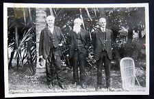 Fort Myers FL~ 1914 Thomas A. Edison - John Burroughs - Henry Ford ~ RPPC