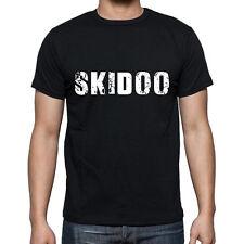 skidoo Tshirt, Homme Tshirt Noir, Mens Tshirt black, Cadeau, Gift