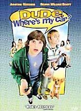 Dude, Where's My Car? (DVD-2001-Ashton Kutcher, Seann William Scott-FREE SHIP