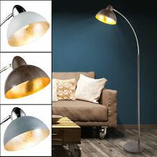 LED Steh Lampen Schlaf Zimmer RGB Dimmer Fernbedienung Bogen Leuchten beweglich