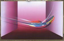 Elba Alvarez Burgundy Interiors signed Original acrylic Painting MAKE AN OFFER!