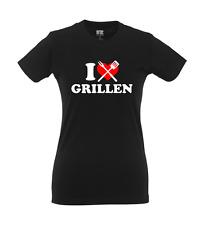 I love Grillen, Girlie Shirt