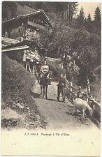 CPA Suisse Lémanique Paysage à Val d'Illiez