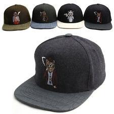 Unisex Mens Womens Premier Zoo Smoking Animals Baseball Cap Snapback Hats