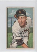 1952 Bowman #121 Al Corwin New York Giants RC Rookie Baseball Card