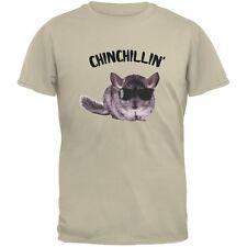 Chinchillin Chinchilla Sand Adult T-Shirt