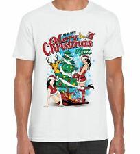 Sexy Merry Christmas Funny Men's T-Shirt