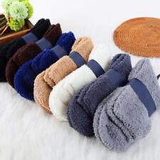 Mens Coral Velvet Thick Long Sock Soft Casual Winter Warm Xmas Plush Wool Socks