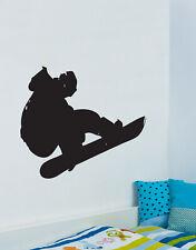 Stickerbrand Vinyl Wall Art Decal Snowboard Extreme Sports #148