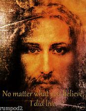 Jesus Christ Art Print/Poster/.'I did Live'17x22 God/Messiah/Religious Image
