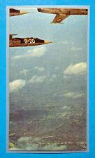 AEREI-Ed.Ediraf-Figurina/Sticker n.182-FORMAZIONE DI F 104 G IN VOLO 7/8-Rec