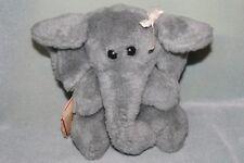 The Rushton Company Gray Elephant Plush Toy Doll 1978 NEW