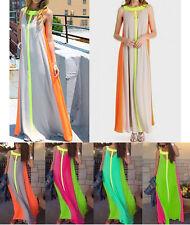 Vestito Lungo Copricostume Maxi Dress Chiffon Woman Long Dress Cover ups 110121