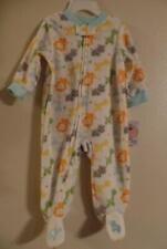New Vitamin's Baby JUNGLE Footed Sleeper Pajamas 3M 6M 9M Elephant Lion Giraffe