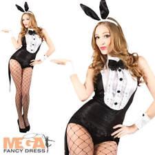 HOT PLAY BOY coniglietto Hostess Costume Pasqua Halloween Donna Costume