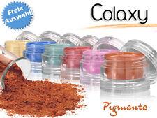 colore a scelta colaxy ICE BRILLANTINI pigmento COSMETICO PER UV GEL 2,5 G