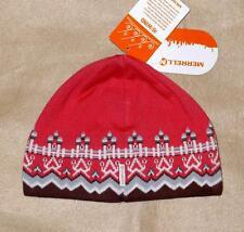 Merrell M-Select WIND Women's Beanie Hat, Pink - Windproof & Wool Blend - NWT!
