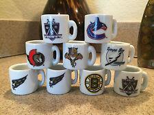 nhl hockey gumball mini mug ceramic team