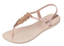 Ipanema NEW Charm II blush women's t bar ankle strap flat fashion sandals sz 3-8