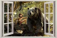 The Jungle Book Mowgli 3D Window Decal Graphic Wall Sticker Decor Art Mural H451