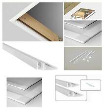 LXL-PVC Blendleisten 60 / 70x120 86x140 für FAKRO !! LWS LWK LWL LTK LDK LMS LMK