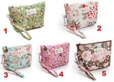 Women Vintage Messenger Cosmetics Makeup Purses Portable Travel Bags Handbags