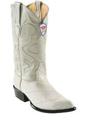 Wild West Bone Genuine Eel Western Cowboy Boot