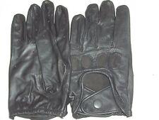 DRIVING GLOVES BLACK LEATHER GOATSKIN VERY soft S,M,L,XL