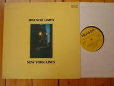 Mwendo Dawa NY Lines Susanna lindeborg Lars Danielsson