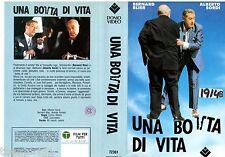 Una Botta di Vita (1988) VHS  Domovideo 1a Ed.  - Alberto Sordi