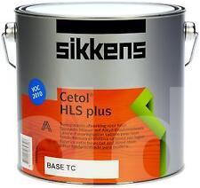 Sikkens Cetol HLS Plus Woodstain Paint - All Sizes - All Colours