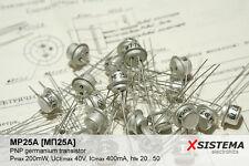 10 x MP... [МП...]  P... [П...] Series Germanium Transistors (ex-USSR)