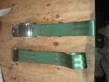 green chrome latch vintage car seat belts c10 truck ford 4x4 gmc vw k5 bronco gm