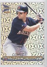 2000 Pacific Prism Silver Slider #86 Todd Walker Minnesota Twins Baseball Card