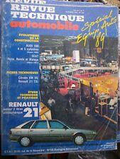 Renault 21 moteur 2L atmos : revue technique RTA 508