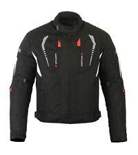 Moto Homme imperméable été cordura textile veste,armure de CE protecteur de moto