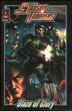 Starship Troopers Blaze of Glory Vol 1 Markosia Trade Paperback TPB Sam Hart art