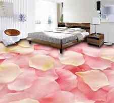 3D petalo rosa pittura Pavimento Foto Wallpaper Murales Muro Stampa Decalcomania