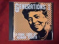 COMPILATION - GENERATIONS I. A PUNK LOOK AT HUMAN RIGHTS (18 TRACKS). CD.