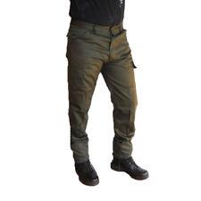 Pantalone policotone cargo verdi caccia tempo libero uomo tasche tattici pesca